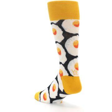 Image of Eggs Men's Dress Socks (side-2-back-15)