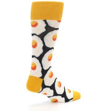 Image of Eggs Men's Dress Socks (side-1-back-22)
