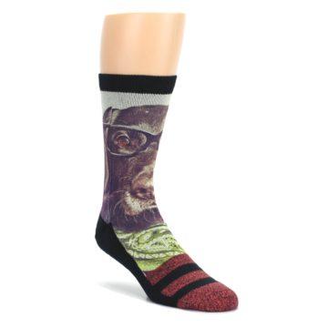 White-Black-Red-Stripe-Mens-Casual-Socks-STANCE