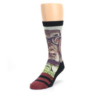 Image of Hipster Dog Men's Casual Socks (side-2-front-07)