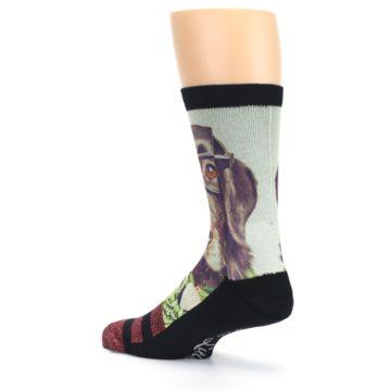 Image of Hipster Dog Men's Casual Socks (side-2-back-14)