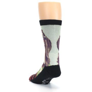 Image of Hipster Dog Men's Casual Socks (side-2-back-16)