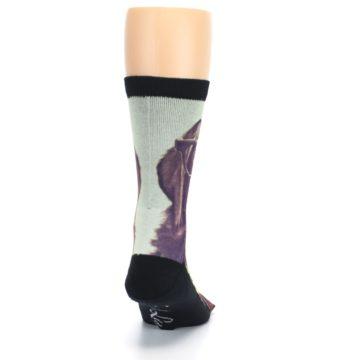 Image of Hipster Dog Men's Casual Socks (back-19)