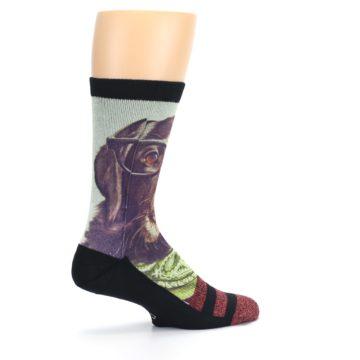Image of Hipster Dog Men's Casual Socks (side-1-23)