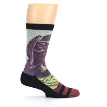 Image of Hipster Dog Men's Casual Socks (side-1-24)