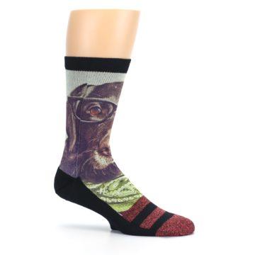 Image of Hipster Dog Men's Casual Socks (side-1-25)