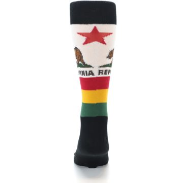 Image of California Flag Men's Dress Socks (back-18)