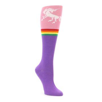 Knee High Unicorn Socks for Women