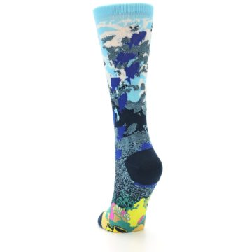 Image of Blue Ocean Shark Women's Dress Socks (side-2-back-16)
