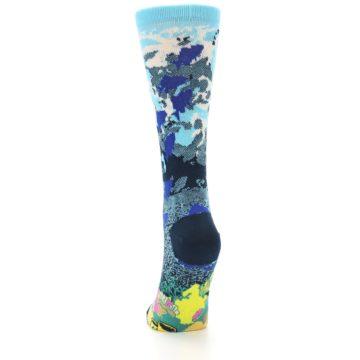 Image of Blue Ocean Shark Women's Dress Socks (back-17)