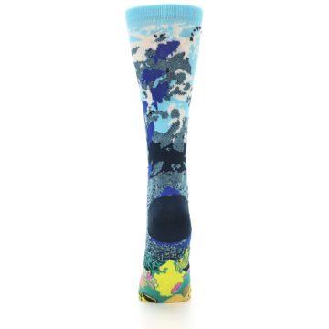 Image of Blue Ocean Shark Women's Dress Socks (back-18)