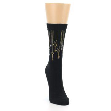 Image of Black Keys Women's Dress Socks (side-1-front-03)