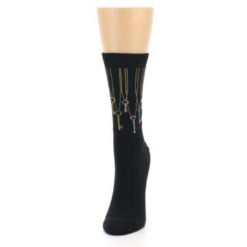 Image of Black Keys Women's Dress Socks (side-2-front-06)