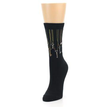 Image of Black Keys Women's Dress Socks (side-2-front-07)