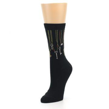 Image of Black Keys Women's Dress Socks (side-2-front-08)