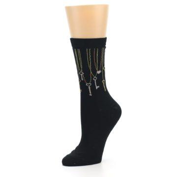 Image of Black Keys Women's Dress Socks (side-2-09)