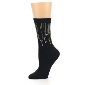 Image of Black Keys Women's Dress Socks (side-2-10)