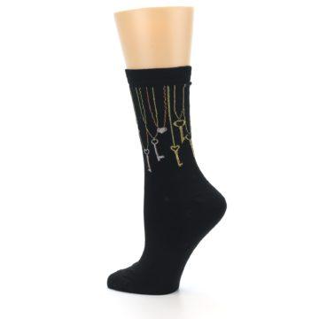 Image of Black Keys Women's Dress Socks (side-2-13)