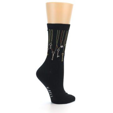 Image of Black Keys Women's Dress Socks (side-1-23)