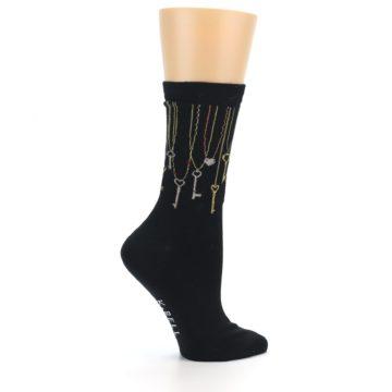 Image of Black Keys Women's Dress Socks (side-1-24)