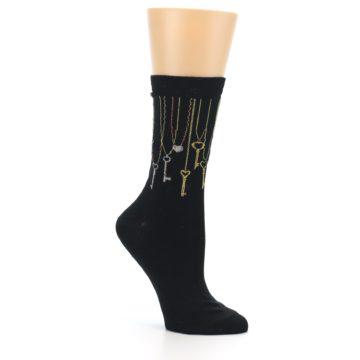 Image of Black Keys Women's Dress Socks (side-1-26)