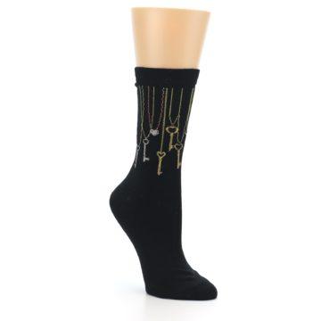 Image of Black Keys Women's Dress Socks (side-1-27)