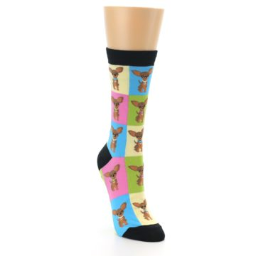 Image of Chihuahua Women's Dress Socks (side-1-front-02)