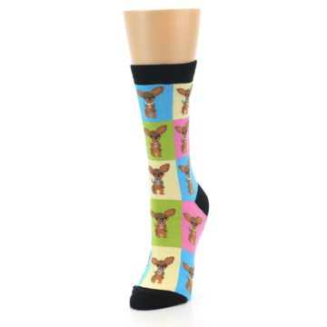 Image of Chihuahua Women's Dress Socks (side-2-front-07)