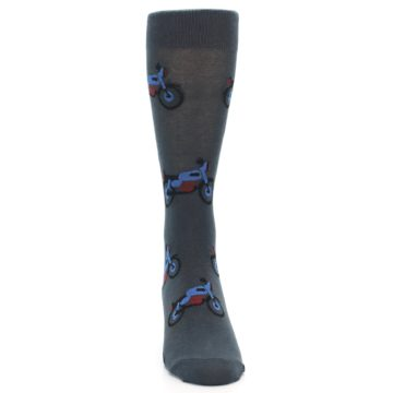 Image of Grey Motorcycles Men's Dress Socks (front-04)