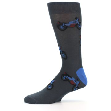 Image of Grey Motorcycles Men's Dress Socks (side-2-11)