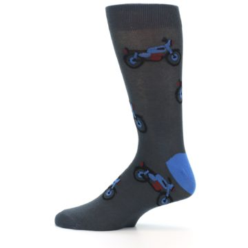Image of Grey Motorcycles Men's Dress Socks (side-2-12)