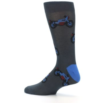 Image of Grey Motorcycles Men's Dress Socks (side-2-13)