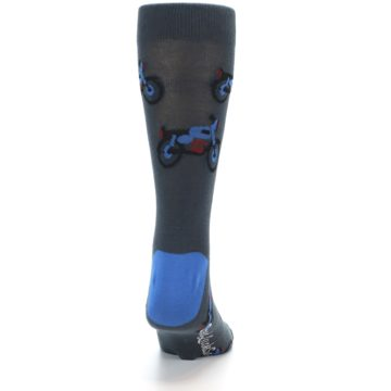 Image of Grey Motorcycles Men's Dress Socks (back-19)