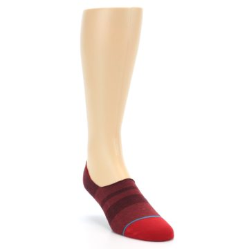 Image of Red Stripe Men's Liner Socks (side-1-front-02)