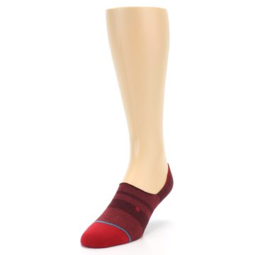 Image of Red Stripe Men's Liner Socks (side-2-front-07)