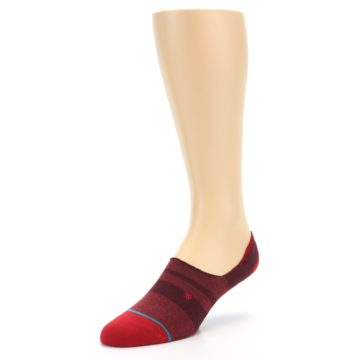 Image of Red Stripe Men's Liner Socks (side-2-front-08)