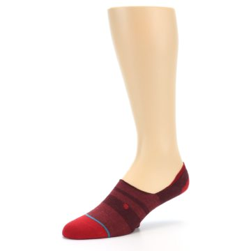 Image of Red Stripe Men's Liner Socks (side-2-09)