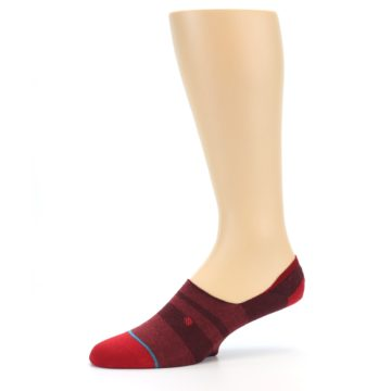 Image of Red Stripe Men's Liner Socks (side-2-10)