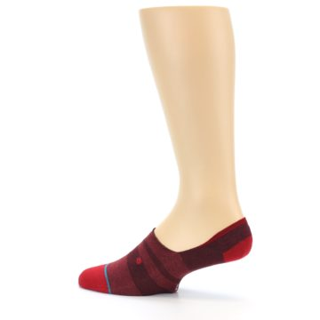 Image of Red Stripe Men's Liner Socks (side-2-13)