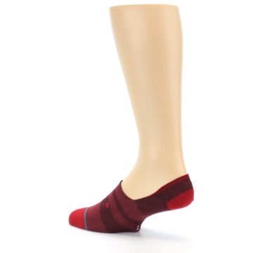 Image of Red Stripe Men's Liner Socks (side-2-back-14)
