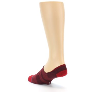Image of Red Stripe Men's Liner Socks (side-2-back-15)