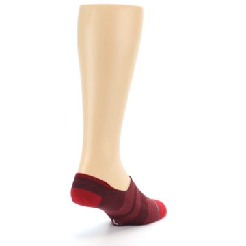 Image of Red Stripe Men's Liner Socks (side-1-back-21)