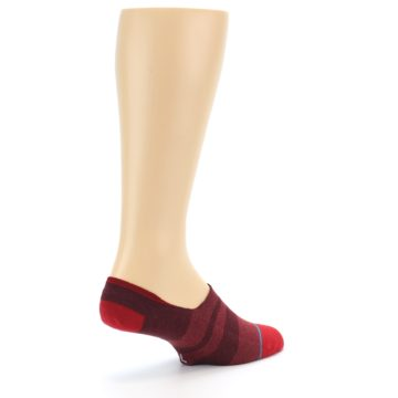 Image of Red Stripe Men's Liner Socks (side-1-back-22)