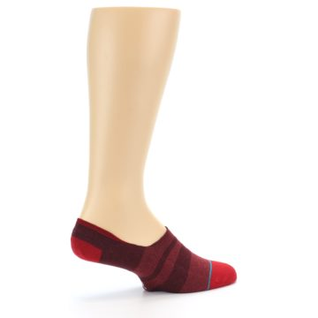 Image of Red Stripe Men's Liner Socks (side-1-23)