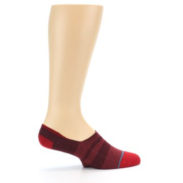Image of Red Stripe Men's Liner Socks (side-1-24)