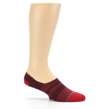 Image of Red Stripe Men's Liner Socks (side-1-25)