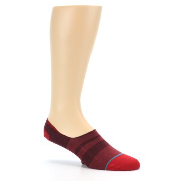 Image of Red Stripe Men's Liner Socks (side-1-26)