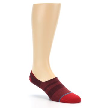 Image of Red Stripe Men's Liner Socks (side-1-27)