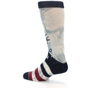 Image of Lady Liberty Men's Casual Socks (side-2-back-14)
