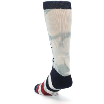 Image of Lady Liberty Men's Casual Socks (side-2-back-16)